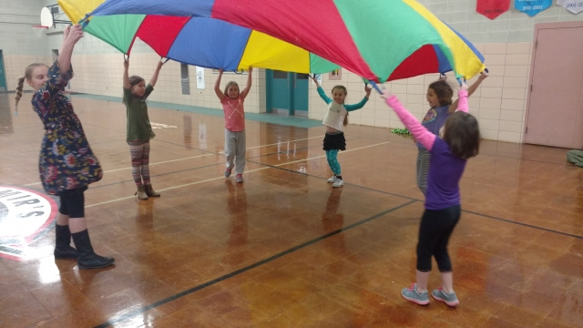 Gym Time Fun Parachute